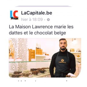 Maison Lawrence chocolat et dattes journal La Capitale