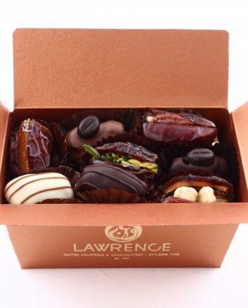 Dattes fourrées chocolatées