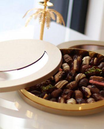 boite croissant dattes fourées
