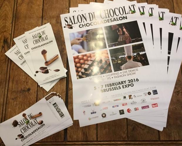 Tickets gratuits pour le Salon du Chocolat de Bruxelles