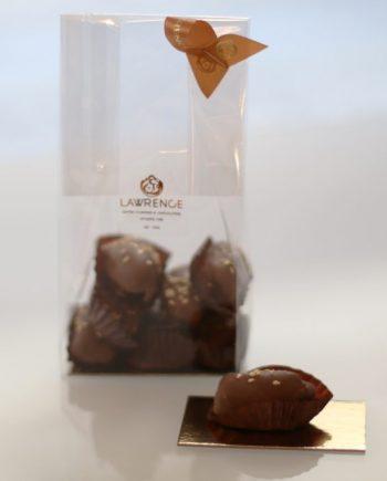 chocolat au lait coeur de sésame