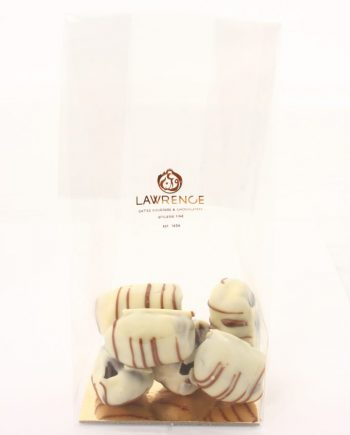 chocolat blanc coeur de biscuit crunchy