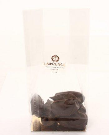 chocolat noir coeur de citron