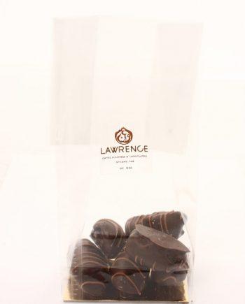 chocolat noir coeur de noix de pécan