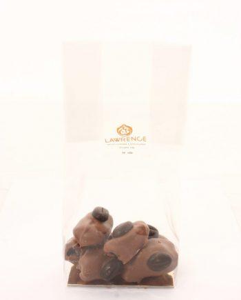 chocolat au lait coeur de moka
