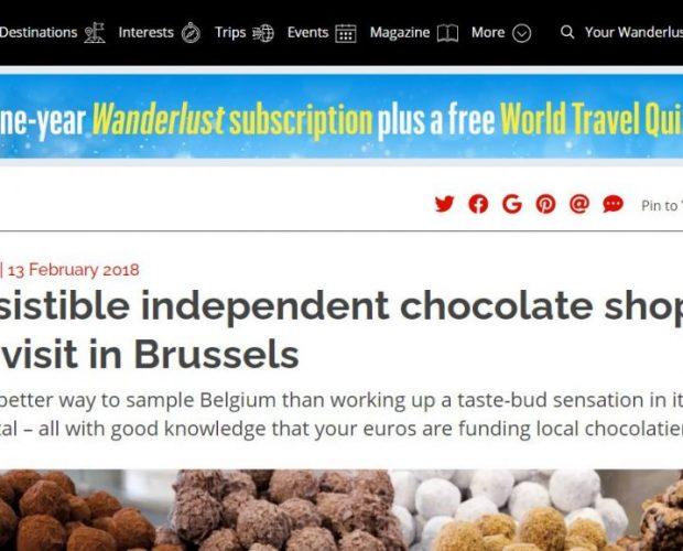 Wanderlust Travel Magazine Lawrence Dattes et chocolat