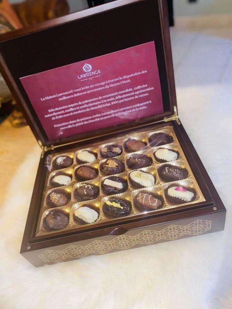 Dattes fourrées et chocolatées de luxe